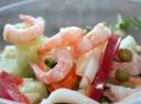 Jūros gėrybių salotos